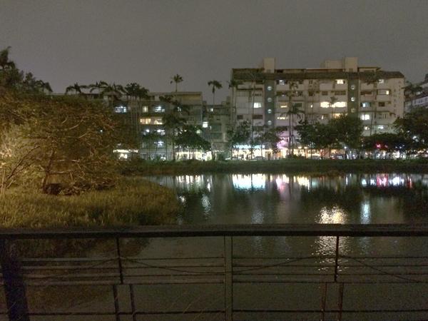 オープンカフェから観る夜景が最高だった。
